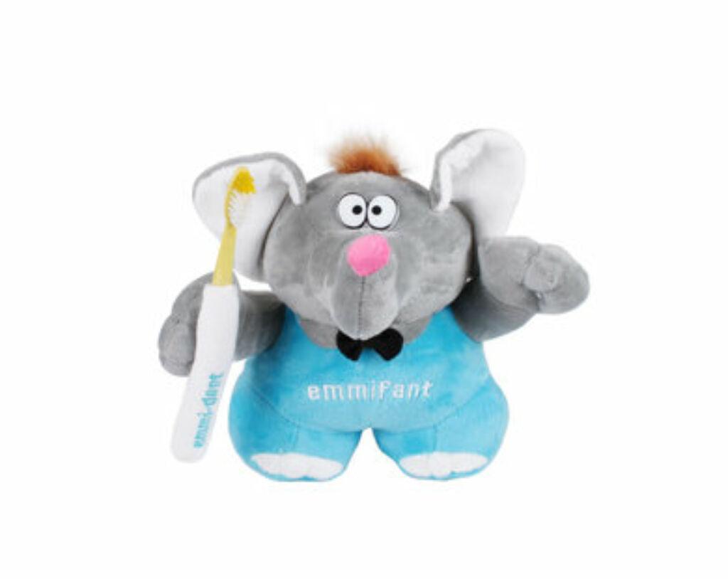 Emmi-dent Emmifant - nagy plüss elefánt (1x)