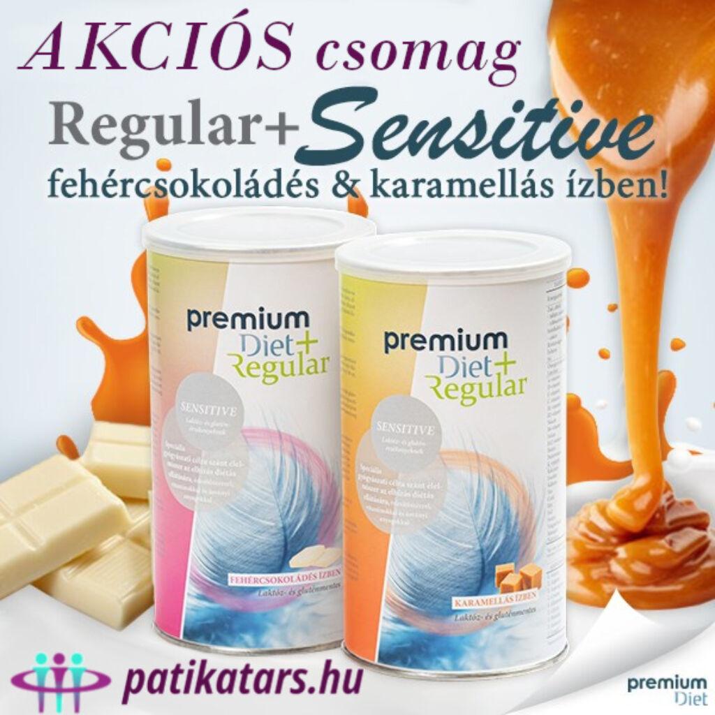 +Sensitive (fehércsokoládés és karamellás) - AKCIÓS csomag