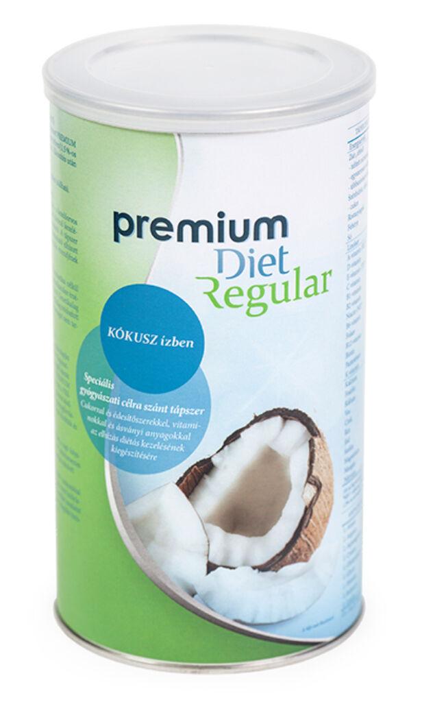 Premium Diet Regular - kókusz ízű (470g/28adag)