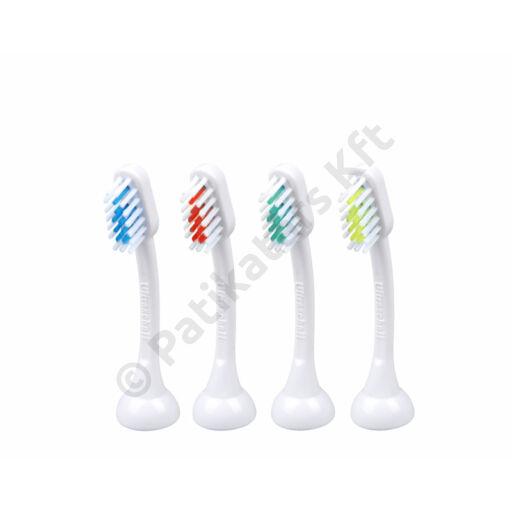 Emmi-dent E4 Metallic és Professional cserélhető fogkefefejek felnőtteknek (4x)