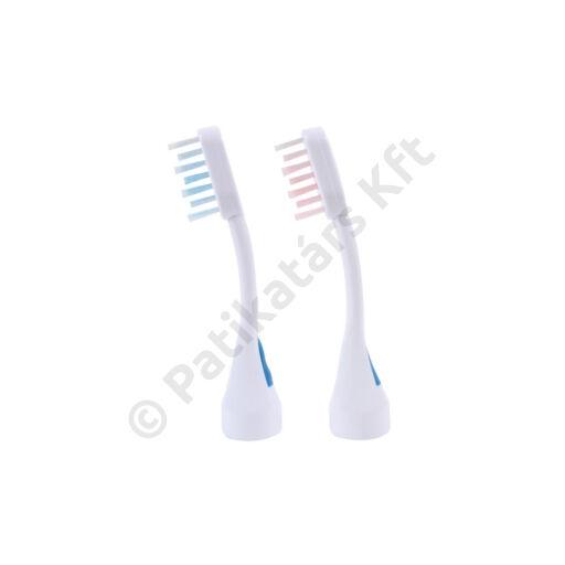 Emmi-dent M2 Wave Platinum ultrahangos cserélhető fogkefefejek felnőtteknek (2x)