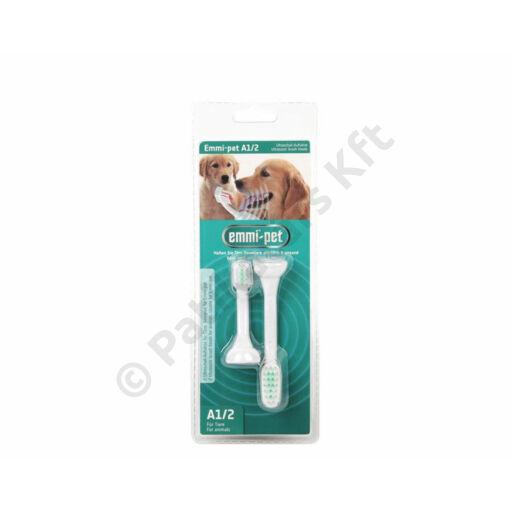 Emmi-pet A1/S2 kicsi - cserélhető ultrahangos fogkefe-fejek (2x)