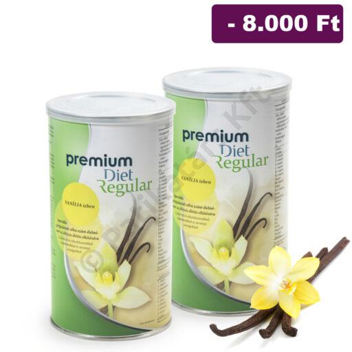 Premium Diet Regular - 2x VANÍLIA (930g/60adag)